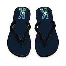 K Under Sea Flip Flops