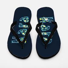 Kara Under Sea Flip Flops