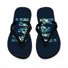 Kari Under Sea Flip Flops