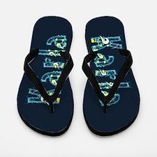 Karla Under Sea Flip Flops