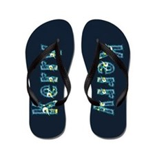 Kerry Under Sea Flip Flops
