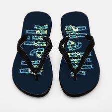 Malik Under Sea Flip Flops