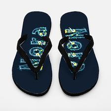 Nora Under Sea Flip Flops