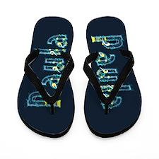 Paula Under Sea Flip Flops
