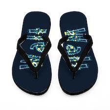 Walt Under Sea Flip Flops