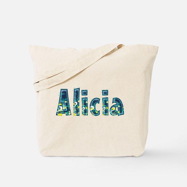 Alicia Under Sea Tote Bag
