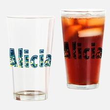 Alicia Under Sea Drinking Glass