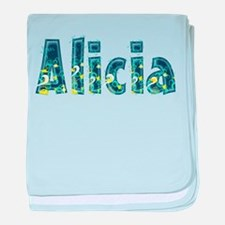 Alicia Under Sea baby blanket