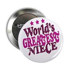 "Worlds Greatest Niece 2.25"" Button (10 pack)"