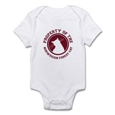 Norwegian Forest Cat Infant Bodysuit