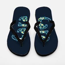 Cara Under Sea Flip Flops