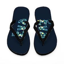Eva Under Sea Flip Flops