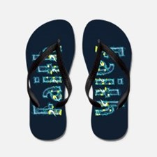 Faith Under Sea Flip Flops