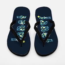 Janet Under Sea Flip Flops