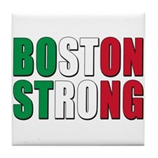 Italian Boston Pride Tile Coaster