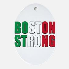 Italian Boston Pride Ornament (Oval)