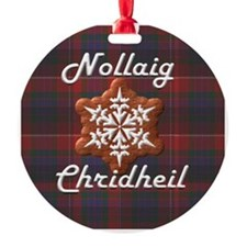 Scots Gaelic Merry Christmas Ornament