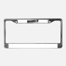 Crushed It - Pitch Perfect License Plate Frame