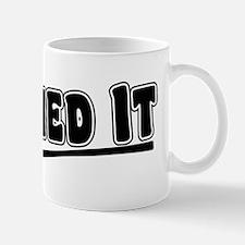Crushed It - Pitch Perfect Mug