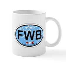 Fort Walton Beach - Oval Design Mug