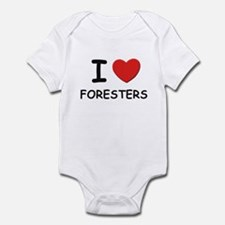 I love foresters Infant Bodysuit