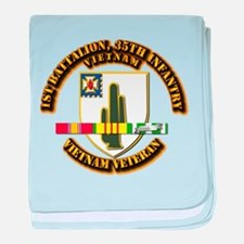 Army - 1st Battalion, 35th Infantry w SVC Ribbons