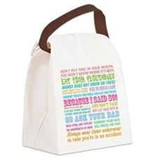 Momisms Canvas Lunch Bag