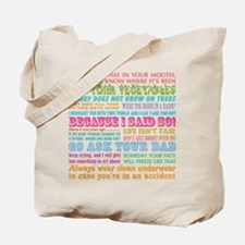 Momisms Tote Bag