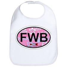 Fort Walton Beach - Oval Design Bib