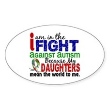In The Fight 2 Autism Decal