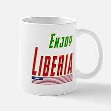 Enjoy Liberia Flag Designs Mug