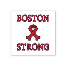 Boston Strong Ribbon Sticker