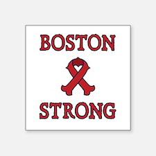 Boston Strong Ribbon Sticker