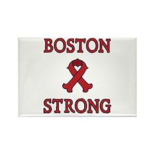 Boston Strong Ribbon Rectangle Magnet