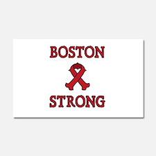 Boston Strong Ribbon Car Magnet 20 x 12