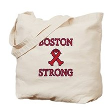 Boston Strong Ribbon Tote Bag