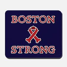 Boston Strong Ribbon Mousepad