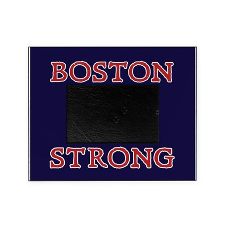 Boston Strong Ribbon Picture Frame