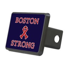 Boston Strong Ribbon Hitch Cover