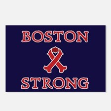 Boston Strong Ribbon Postcards (Package of 8)