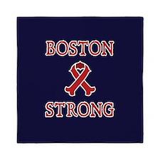 Boston Strong Ribbon Queen Duvet
