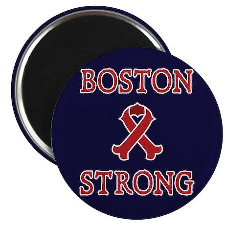 "Boston Strong Ribbon 2.25"" Magnet (100 pack)"