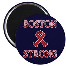 Boston Strong Ribbon Magnet