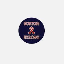 Boston Strong Ribbon Mini Button