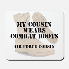 AF Cousin wears DCB Mousepad