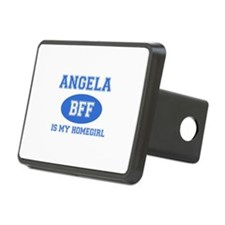 Angela is my home girl bff designs Hitch Cover