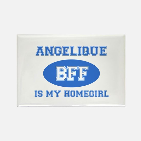 Angelique is my home girl bff designs Rectangle Ma