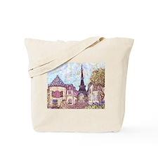 ParisCityscapePointillism021511.jpg Tote Bag