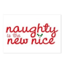 Naughty is the New Nice Postcards (Package of 8)