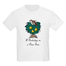 First Day of Christmas Kids T-Shirt